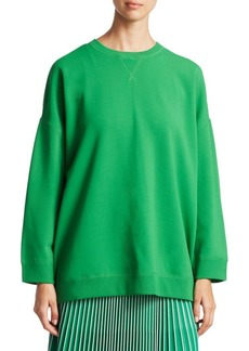 Valentino Stretch Ribbed Sweatshirt
