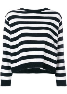 Valentino striped bow sweater