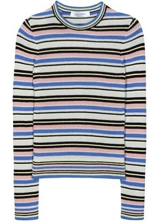 Valentino Striped cotton sweater