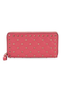 Valentino Studded Continental Wallet