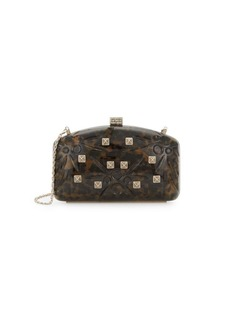 Valentino Studded Convertible Clutch