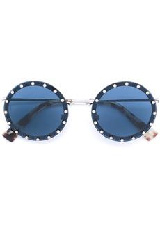 Valentino studded round glasses