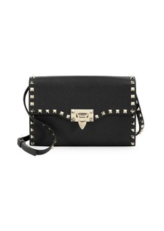 Valentino Studded Small Leather Shoulder Bag