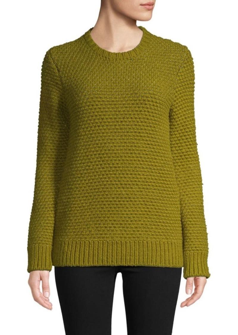 Valentino Textured Wool Blend Sweater