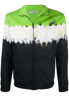 Valentino tie-dye zipped sweatshirt
