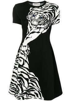 Valentino Tiger motif dress