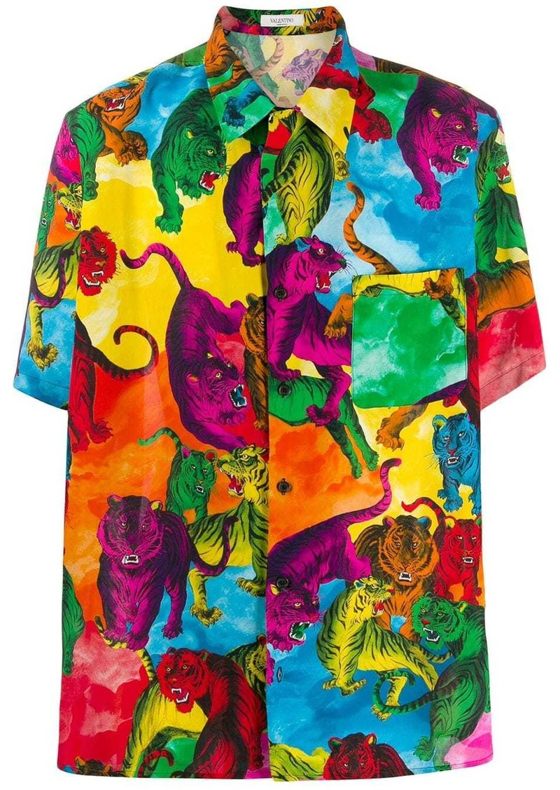 Valentino tiger print shirt