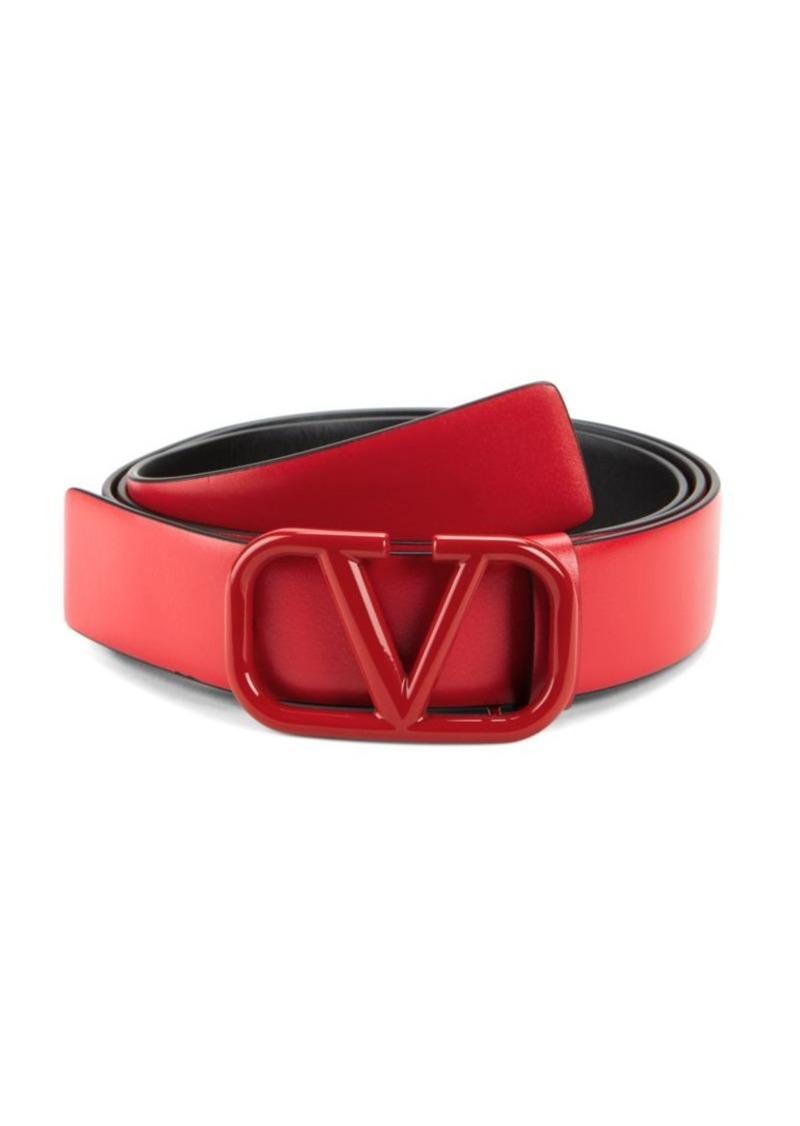Valentino Garavani Tonal V Logo Belt
