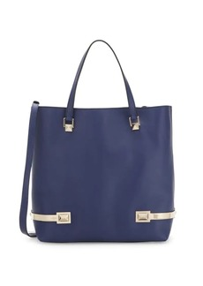Valentino Top Hook Leather Shoulder Bag