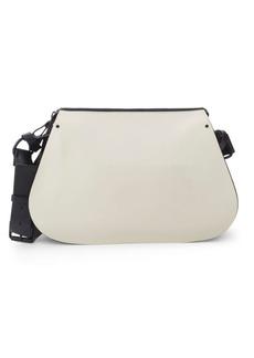 Valentino Top Zip Leather Shoulder Bag