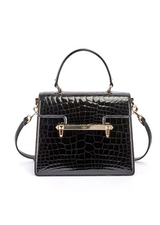 Valentino Uptown Crocodile Top-Handle Bag