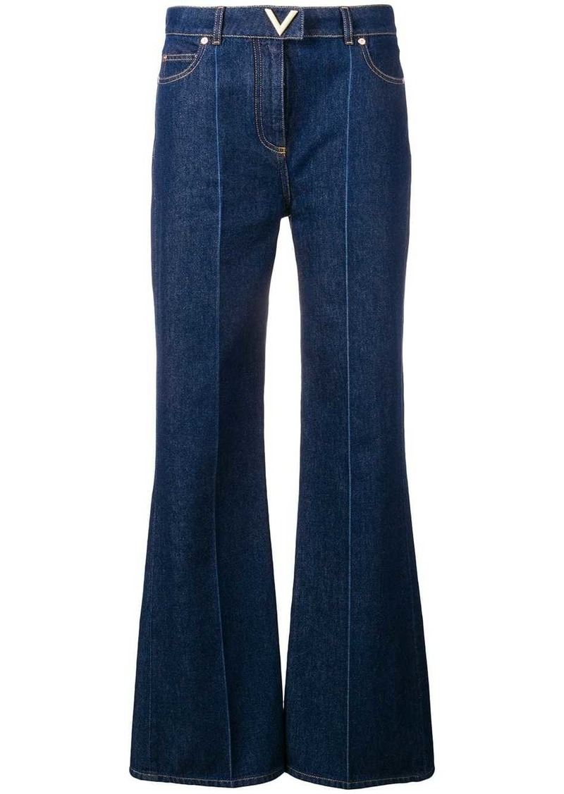 Valentino V detail regular-fit jeans