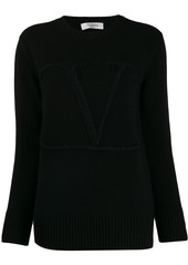 Valentino V embroidered sweater