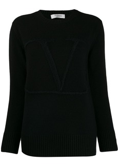 Valentino V embroidered sweater