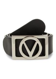 Valentino V-Logo Leather Belt