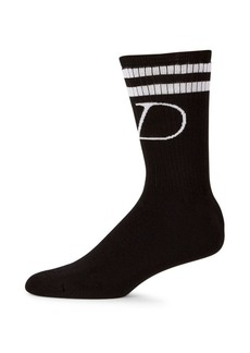Valentino Garavani V Logo Socks