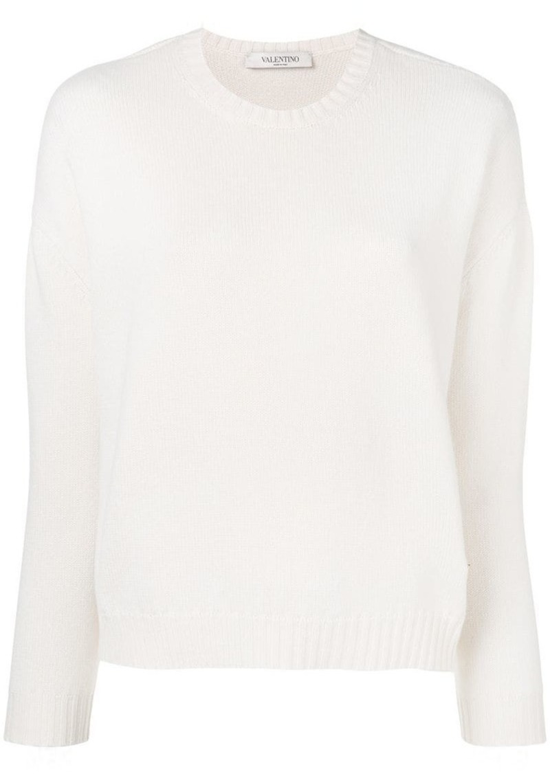 Valentino V plaque jumper