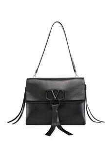 Valentino V Ring Medium Vitello Luxe Shoulder Bag
