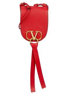 Valentino V Ring Saddle Bag