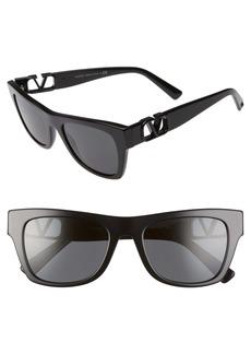 Valentino 52mm Sunglasses