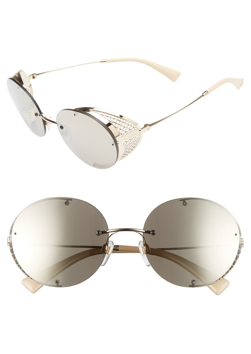 79496eb76d Valentino Valentino 52mm Round Sunglasses