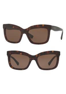 Valentino 52mm Square Sunglasses