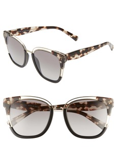 Valentino 54mm Square Sunglasses