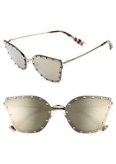Valentino 59mm Cat Eye Sunglasses