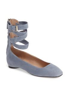 Valentino Ankle Wrap Ballet Flat (Women)