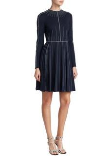 Athleisure Stitched Dress