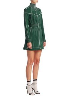 Valentino Athleisure Zip Mini Dress