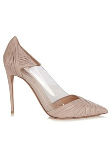 Valentino B-Drape leather pumps
