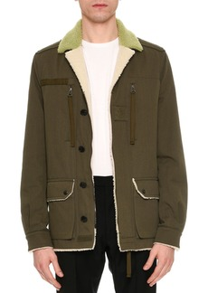 Valentino Beauty is a Birthright Shearling-Lined Jacket