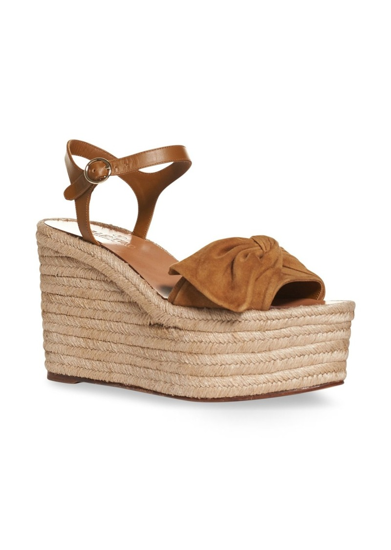 0cabe303903 On Sale today! Valentino Valentino  Bow  Espadrille Wedge Sandal (Women)
