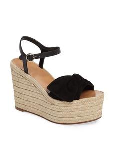 Valentino 'Bow' Espadrille Wedge Sandal (Women)
