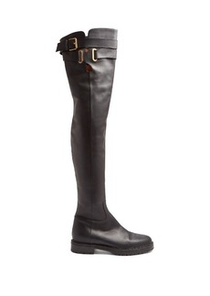 Valentino Bowrap over-the-knee leather boots