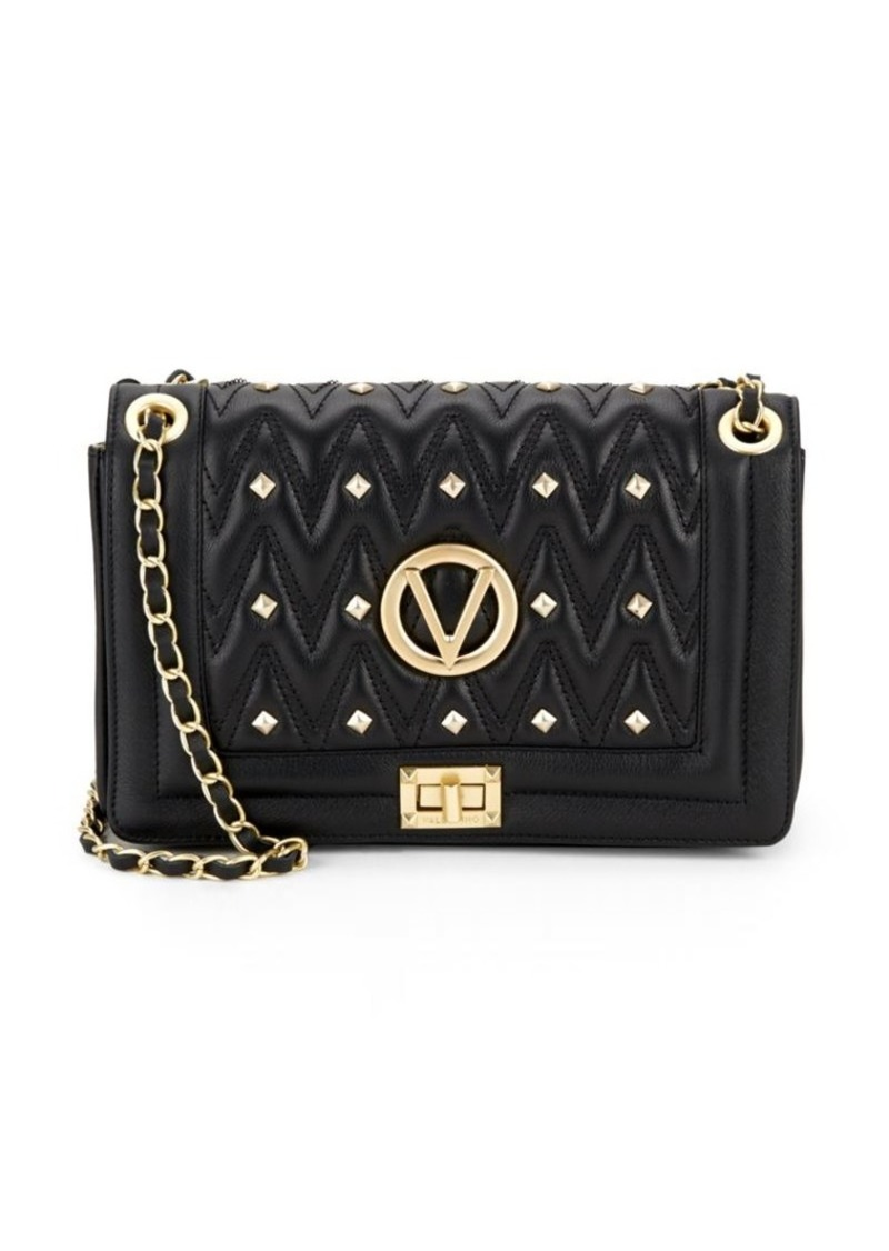By Mario Alice D Quilted Leather Shoulder Bag Valentino
