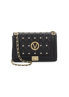 Valentino by Mario Valentino Alice Studded Leather Crossbody Bag