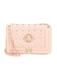 Valentino by Mario Valentino Aliced Studded Italian Leather Handbag