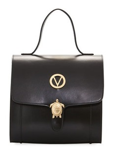 Valentino By Mario Valentino Amy Leather & Suede Satchel Bag