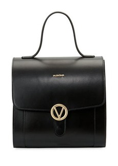 Valentino By Mario Valentino Amy Soave Leather & Suede Satchel Bag