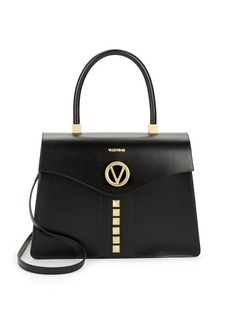Valentino by Mario Valentino Anais Studded Leather Satchel