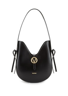 Valentino by Mario Valentino Anny Leather Saddle Bag