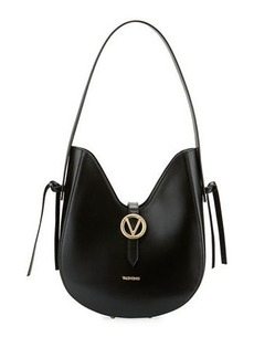 Valentino By Mario Valentino Anny Soave Leather Dip-Top Shoulder Bag