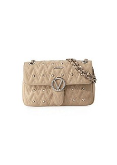 Valentino By Mario Valentino Antoinette Sauvage Leather Stud Shoulder Bag