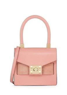 Valentino By Mario Valentino Arlet Leather Top Handle Bag