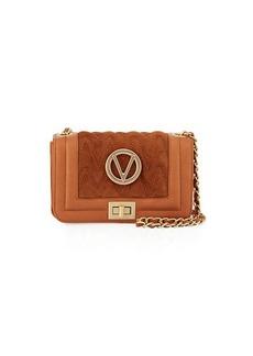 Valentino By Mario Valentino Beatriz Quilted Suede Shoulder Bag