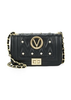 Valentino by Mario Valentino Beatriz Studded Leather Crossbody Bag