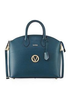 Valentino By Mario Valentino Bravia Palmellato Leather Satchel Bag
