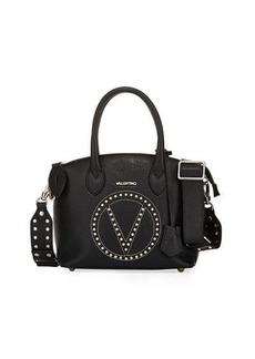 Valentino By Mario Valentino Bravia Studded Leather Satchel Bag